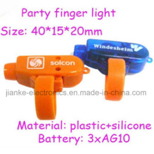 Bright LED Laser Finger with Logo Printed (4012)