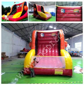 Inflatable Basketball Shooting, Inflatable Basketball Hoop, Inflatable Basketball Sports Game B6072 pictures & photos