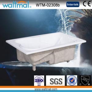 Drop in 2 Person Acrylic Rectangular Bathtub (WTM-02308b) pictures & photos