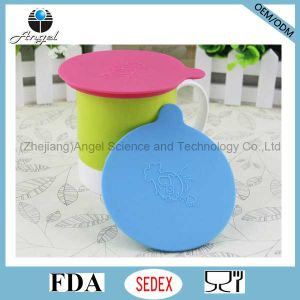 Holiday Silicone Tea Cup Lid Cover, Silicone Mug Lid Cover SL12