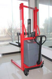 1.5-2t Semi-Electric Pallet Truck with High Quality pictures & photos