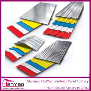 High Quality Color Steel Roof Tile for Building Material pictures & photos