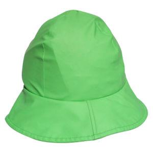 Green PU Rain Hat /Rain Cap/Raincoat for Adult pictures & photos