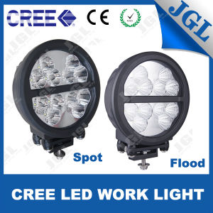 8′′ Round Shape CREE LED Work Light Heavy-Duty pictures & photos