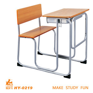 School Conjoined Twin Chairs and Tables pictures & photos