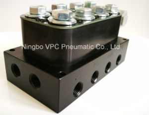 Airride Suspension Manifold Valve Block 1/2 NPT Bag Control Fbss 250psi Max W/7-Switch pictures & photos