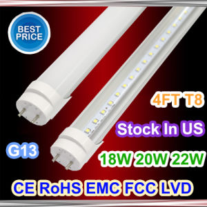 G13 T8 18W 4ft 1200mm AC85-265V Cold/Warm White Tube