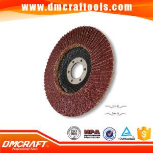 Aluminum Oxide Fiberglass Cover Abrasive Flap Discs pictures & photos