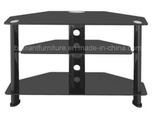 Tempered Glass and Metal Modern TV Stand (BR-TV145A)
