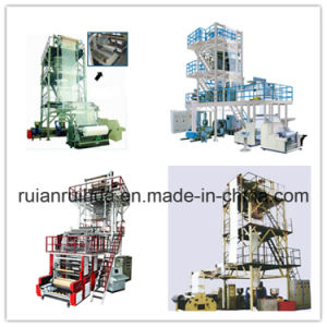 HDPE/LDPE/LLDPE Blown Film Machine in Ruian pictures & photos