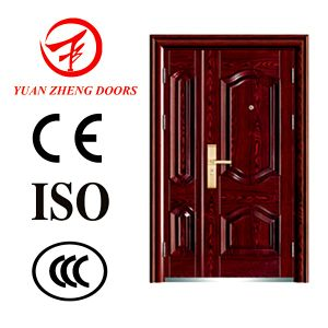 Good Quality and Best Price Steel Security Double Door pictures & photos