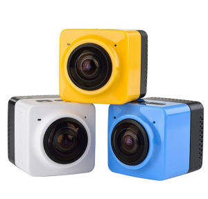 12MP WiFi Cube 360 Degree Panorama Waterproof Sport Camera Camcorder Action Camera