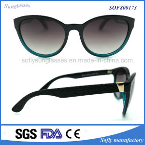 Summer Style Cheap Promotional Sunglasses with Mirror Lens pictures & photos