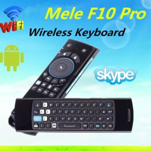 Mele F10 Wireless Air Mouse for Android TV Box with Qwert Keyboard pictures & photos