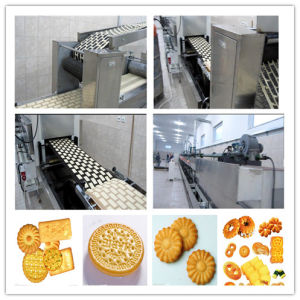 Complete& Full Automatic Biscuit Making Plant pictures & photos