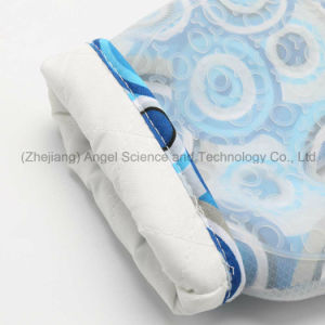Heat Insulation Short Silicone Cooking Glove for Kitchen Sg15 pictures & photos