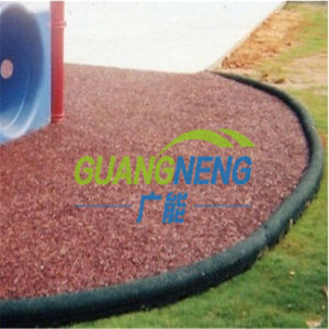Eco-Friendly Rubber Border/Playground Rubber Tile Garden Rubber Boarder, Sports Rubber Tiles, pictures & photos