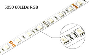 UL Approval SMD5050 RGB LED Light Strip pictures & photos