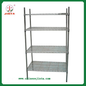 Competitive Factory Direct Price Wire Shelving, Steel Shelving (JT-F09) pictures & photos