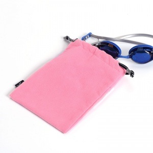 Goggle Velvet Drawstring Pouch pictures & photos