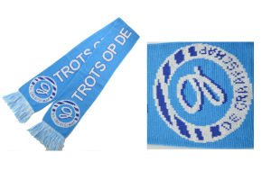 Wholesale Cheap Knitted Winter Warm Acrylic Soccer Football Team Fans Scarf pictures & photos