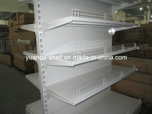 High Quality Steel Plain Back Panel Supermarket Shelf Display Shelves pictures & photos