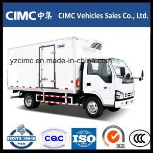 Isuzu 4X2 12-13cbm Refrigerated Van Box Truck pictures & photos