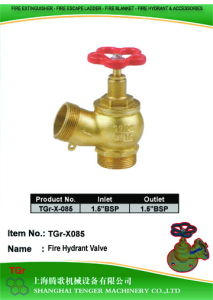 "Pressure Reduce Angle Hydrant Valve: 1.5""Bsp pictures & photos"