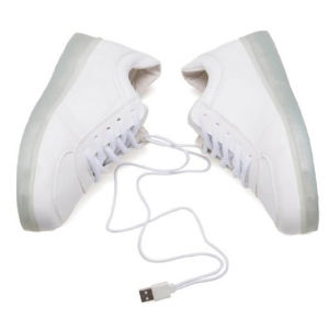 Luminous USB Charging Light LED Shoes for Dancing pictures & photos