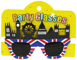 Party Glasses with London View