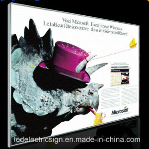 Poster Frame Snap Frame Aluminum Profile pictures & photos