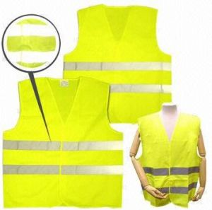 Yellow High Visibility Safety Vest, En/ANSI, Factory in Ningbo, China pictures & photos
