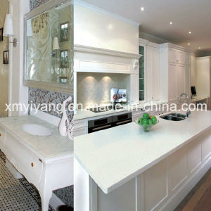 Artificial Quartz Bathroom Vanity Top & Kitchen Countertop (YQA-QC1003) pictures & photos