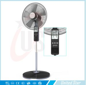 The Lastest 16inch or 18inch Standing Battery Fandc Double Use Solar Fans pictures & photos