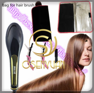 Bag for Professional Digital Anti Static Hair Straightener Ceramic Brush pictures & photos