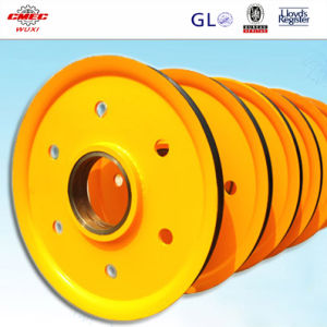 OEM High Quality Cheap Big Pulley Large Pulley Wheel with Certification pictures & photos