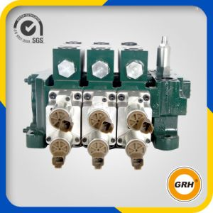 Series Sectional Hydraulic Directional Valve with Solenoid Valve pictures & photos