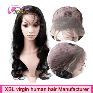China Wholesale 100% Human Hair Front Lace Wigs pictures & photos