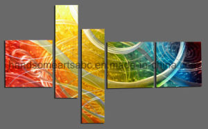 Colorful Metal Wall Art with 3D Effect for Decoration (CHB101606) pictures & photos