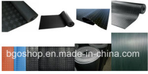 Durable Custom Industrial Rubber Non-Slip Flooring Mat pictures & photos