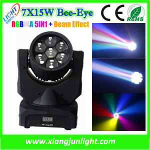 7PCS 10W LED Mini Moving Head DJ Light pictures & photos
