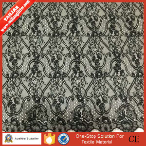 2016 Tailian Fashion Black Woven Fabric Lace pictures & photos