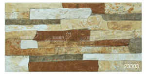 Ceramic Rustic Stone Exterior Wall Tile/Outdoor Tile (200X400mm) pictures & photos