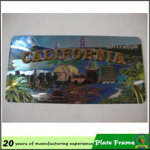 High Quality Carbon Fiber License Plate Frame pictures & photos