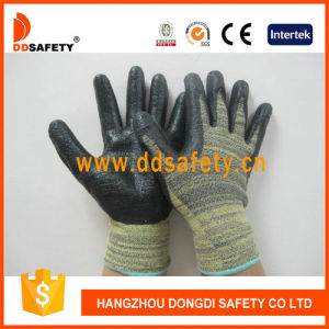 Ddsafety 2017 Cut Resistance Gloves Black Nitrile pictures & photos