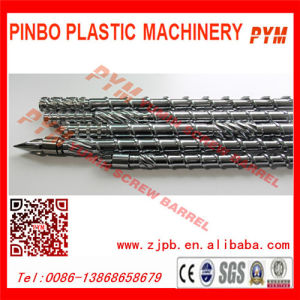 PP PE Recycled Screw Barrel and Twin Screw Extruder pictures & photos