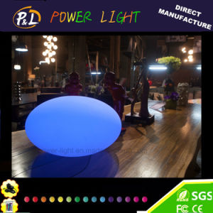Outdoor Decorative Floating Pool Ball LED Oval pictures & photos