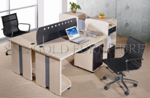 Factory Wood Call Center Office Small Workstation for 2-Person (SZ-WS325) pictures & photos