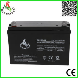 12V 100ah VRLA Sealed Lead Acid Battery for Solar Energy Systems pictures & photos