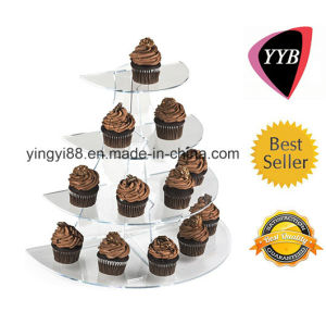 Top Selling Acrylic 4 Tiers Display pictures & photos